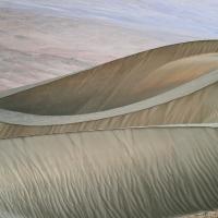 Amanecer en desierto