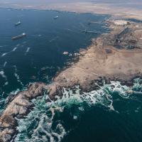 Punta Patache, vista aérea