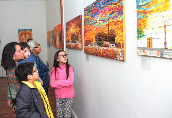 Claudia Balcarce expone en Pica
