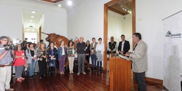 Inauguración Sala de Artes Casa Collahuasi Iquique