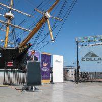Museo corbeta Esmeralda realizó lanzamiento de obras del proyecto de recuperación, mejoramiento y ampliación