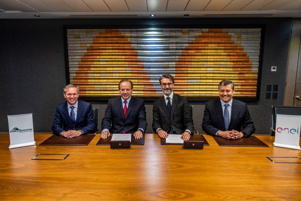 Collahuasi y Enel firman el mayor contrato de energía 100% renovable de Chile